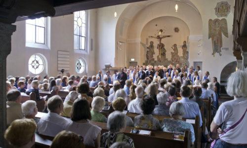 Gospelkonzert in vollbesetzter Christuskirche