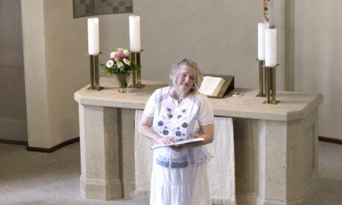 Ute Stettner vom Kirchenvorstand